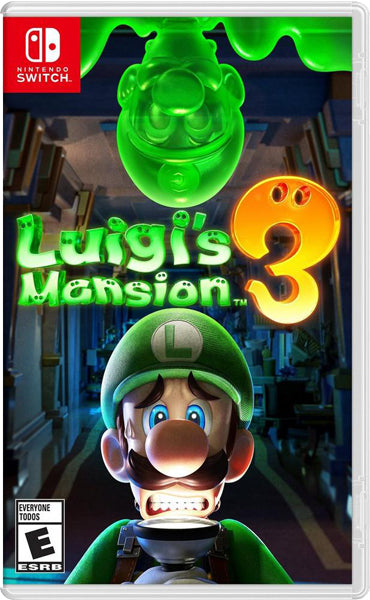 Nintendo Switch Game Rental - Luigi's Ghost Mansion 3