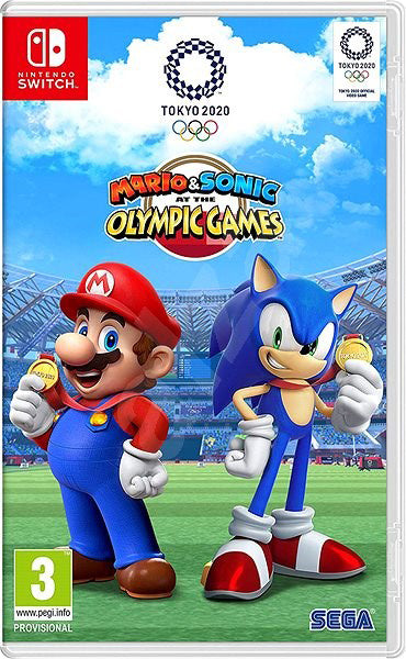 Nintendo Switch Game Rental - Mario & Sonic at the Olympic Games 2020 Tokyo