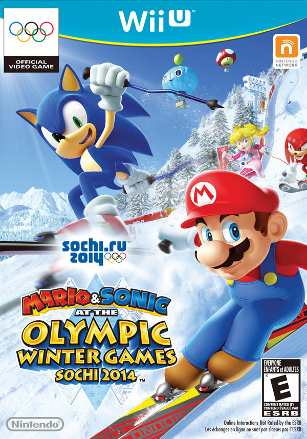 Mario & Sonic at the Olympic Winter Games Sochi 2014