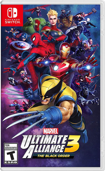 Nintendo Switch Game Rental - Marvel Ultimate Alliance 3 The Black Order