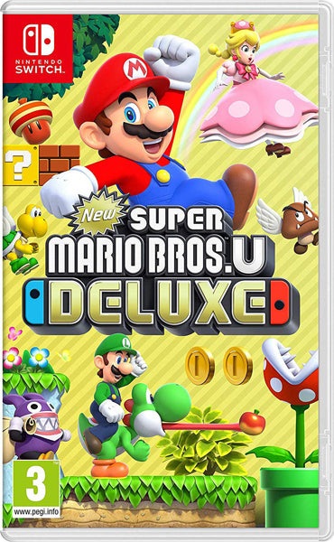 Nintendo Switch Game Rental - New Super Mario Bros U Deluxe
