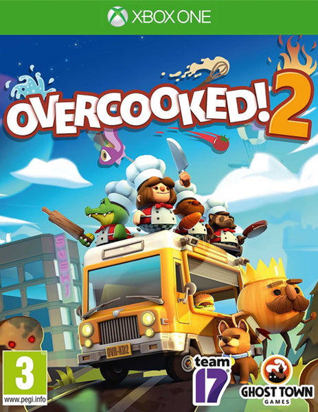 Xbox ONE Game Rental - Overcooked 2
