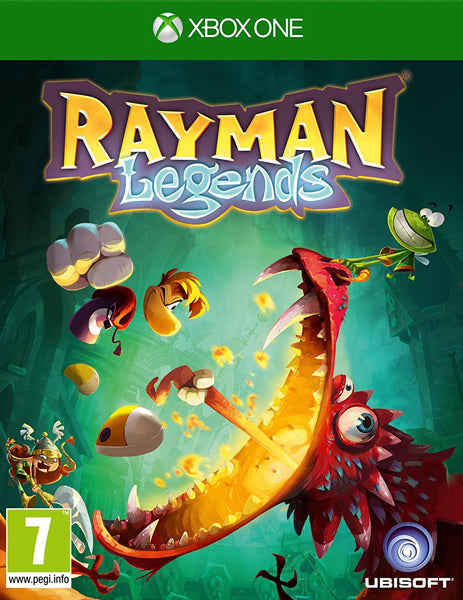 Xbox ONE Game Rental - Rayman Legends