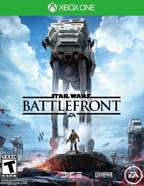 Xbox ONE Game Rental - Starwars Battlefont