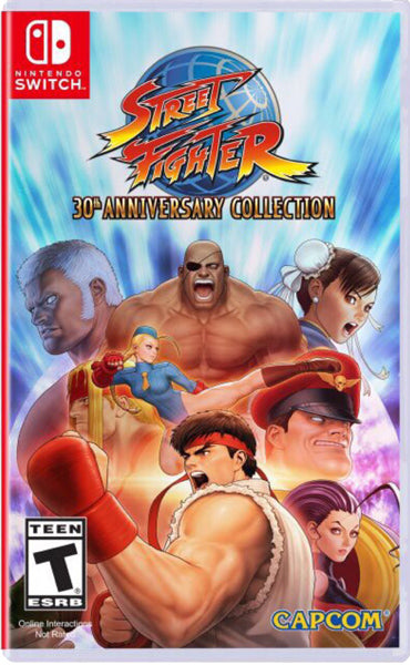 Nintendo Switch Game Rental - Street Fighter 30th Anniversary Collection