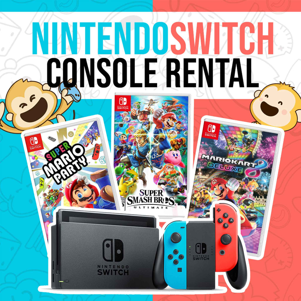 7-Day Nintendo Switch Console Rental
