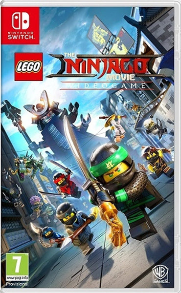 Nintendo Switch Game Rental - The Lego Ninjago Movie Game