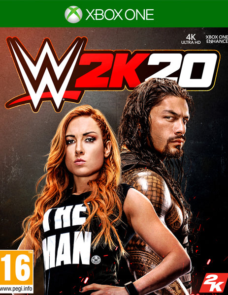 Xbox ONE Game Rental - WWE 2K20