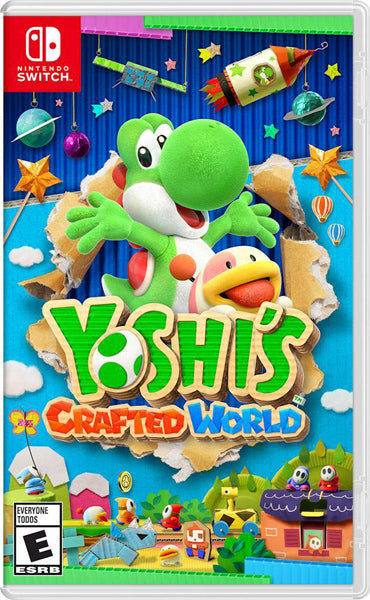 Nintendo Switch Game Rental - Yoshi's Crafted World