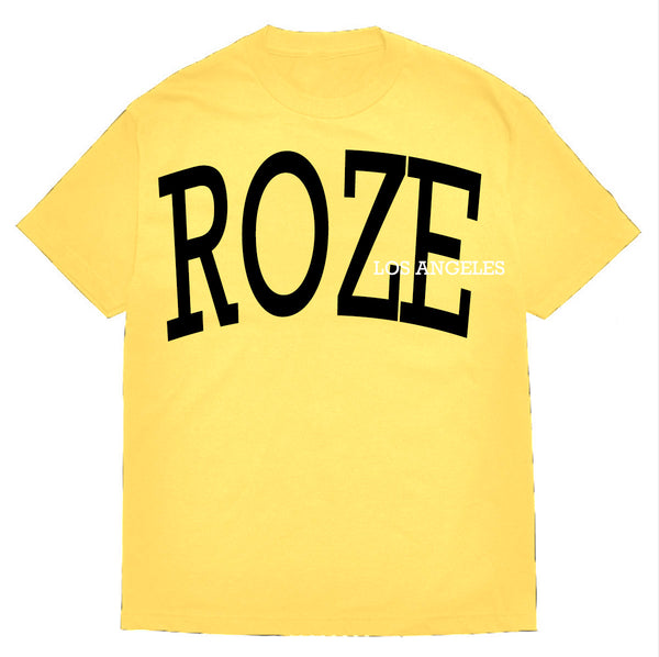 Yellow Chest Logo tee