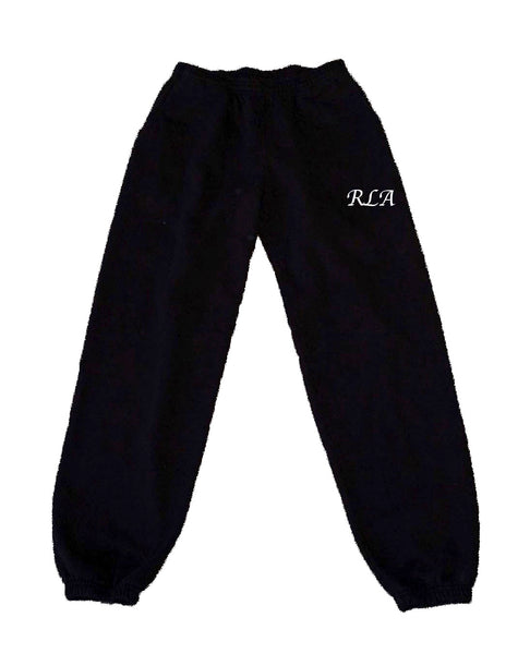 RLA Black Sweatpants