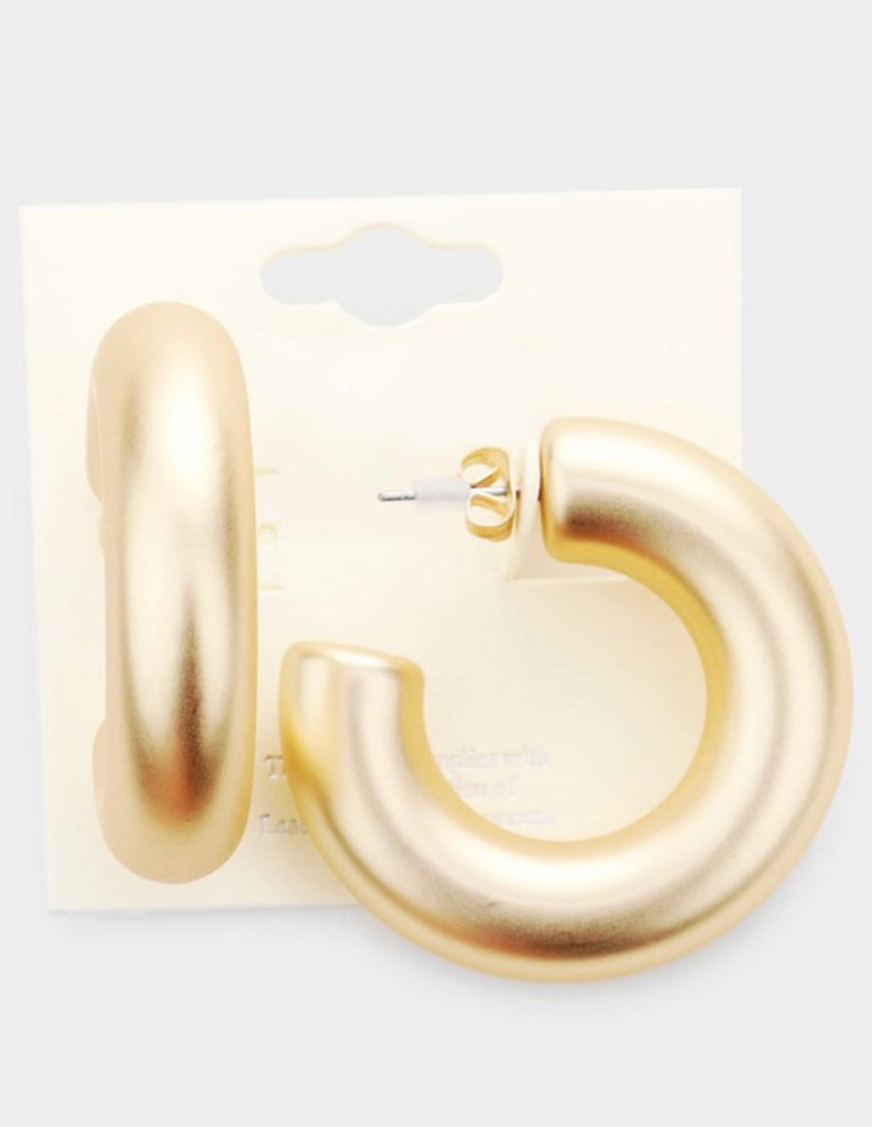 statement medium hoops