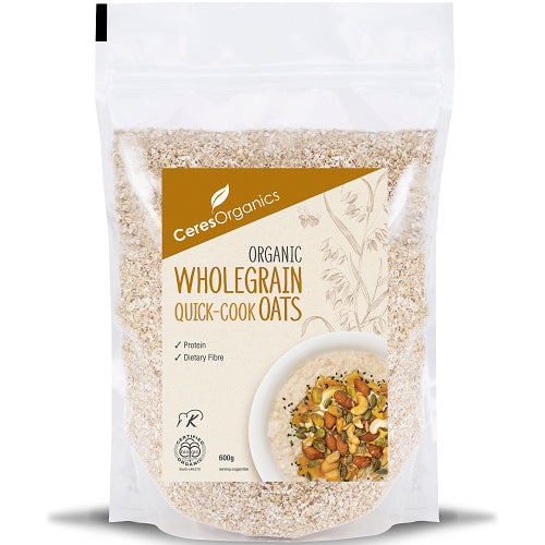 Wholegrain Quick Cook Oats 600g