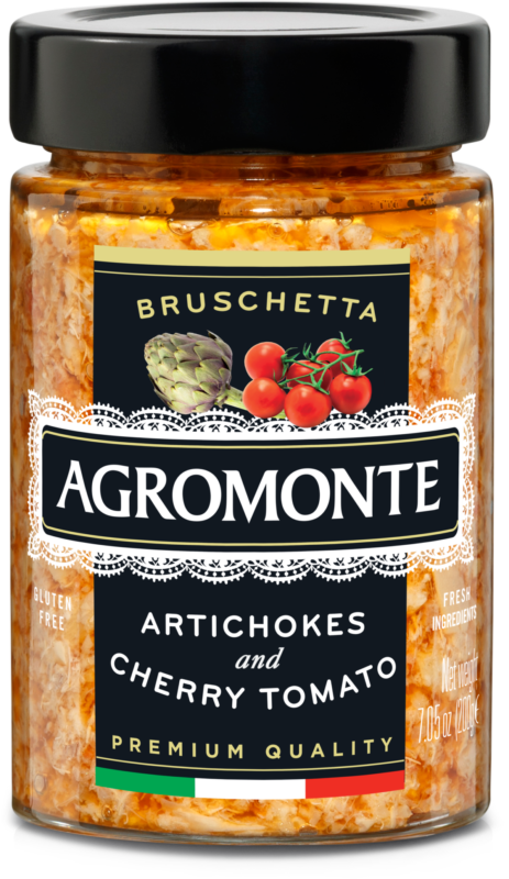 Bruschetta Artichoke with Cherry Tomato 100g