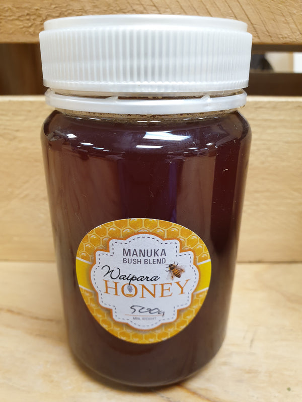 Waipara Honey - Manuka Bush Blend 500g