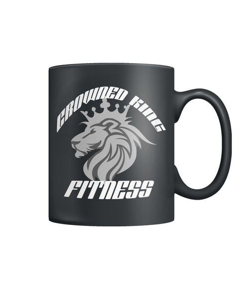 Crowned King Fitness 11oz Coffee Mug #23567 - Heart Fit