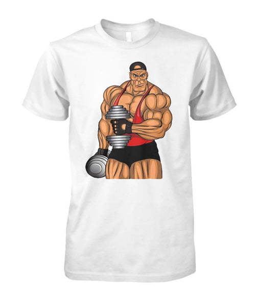 Muscle Man T- Shirt #210432 - Heart Fit