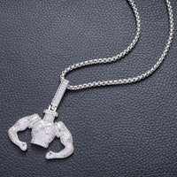 Fitness Pendant Necklace #651444 - Heart Fit