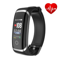 M4 Waterproof Smart Watch Blood Pressure Heart Rate Monitor Calorie Pedometer - Heart Fit