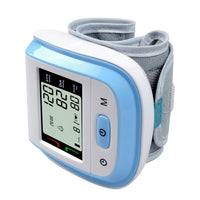 Automatic Voice Wrist Digital Blood Pressure Monitor LCD Display #255366 - Heart Fit
