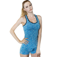COLORFUL SERIES Running Quick Dry Vest Yoga Shirt  High elasticity Tight fitting #54489898 - Heart Fit