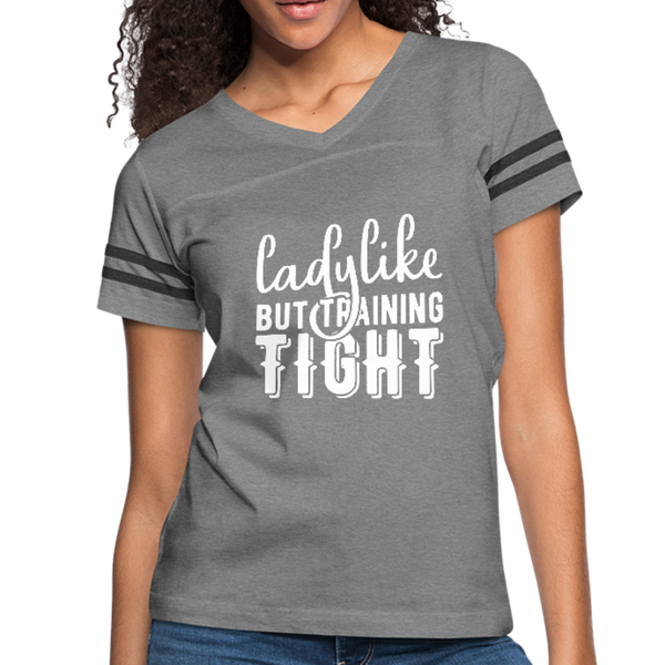 Lady Like Women's Vintage Sport T-Shirt #5255244 - Heart Fit
