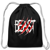 Beast Cotton Drawstring Bag #42545255 - Heart Fit