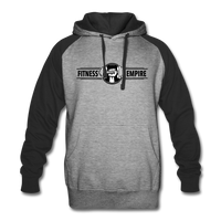 Fitness empire Unisex Colorblock Hoodie #76376636 - Heart Fit