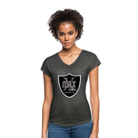 X Max Shield Women's Tri-Blend V-Neck T-Shirt #42443626 - Heart Fit