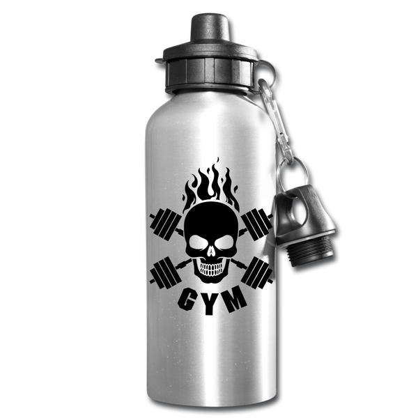 Gym Skull Water Bottle #52211212 - Heart Fit