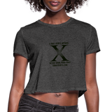 X Max Women's Cropped T-Shirt #1300277 - Heart Fit