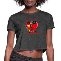 Heart Fit Women's Cropped T-Shirt #5349 - Heart Fit