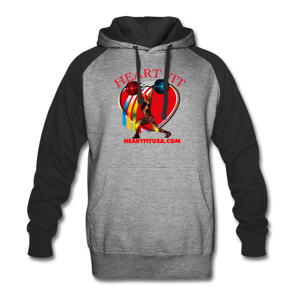 Heart Fit Colorblock Hoodie #4255240 - Heart Fit