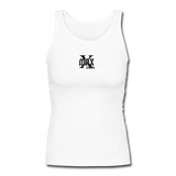 X Max Small Logo Women's Longer Length Fitted Tank #424423 - Heart Fit
