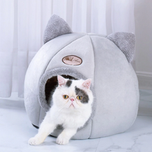 "Load image into Gallery viewer, ""Kitty Cat"" Cat house"