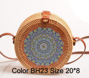 """Boho Love"" Straw handbag in 16 variants"
