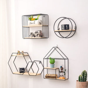 """So Solid""  Iron Storage Shelf"