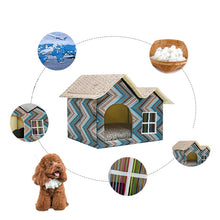 "Load image into Gallery viewer, ""Retro Home"" Dogs & cats house in 4 variants"