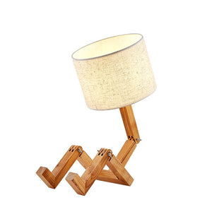 """Woody"" Table Lamp"