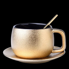 "Load image into Gallery viewer, ""Frosty"" High-Grade golden coffee cup set or lose"