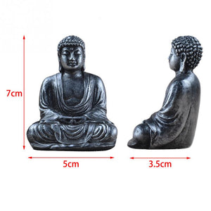 """Harmony"" Mini buddha statue in 2 colors"