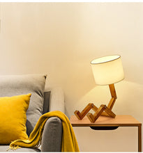 "Load image into Gallery viewer, ""Woody"" Table Lamp"