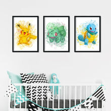 "Load image into Gallery viewer, ""Sweet Pokémon"" wall art"
