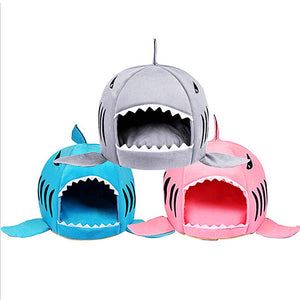 """Shark"" Cat & dog house in 3 colors"