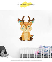 "Load image into Gallery viewer, ""Indiana Animal"" Animal wall sticker"