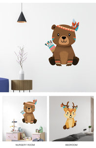 """Indiana Animal"" Animal wall sticker"