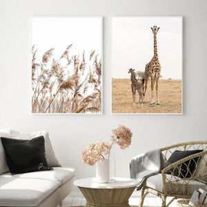 """Safari Poetry"" Wall art"