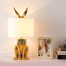 "Load image into Gallery viewer, ""Modern Rabbit"" LED table lamp"