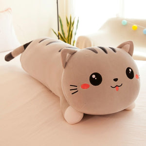 """Crazy Cat"" stuffed pillow"