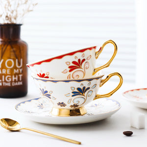 """My Cup Of Tea"" Cup & saucer set"